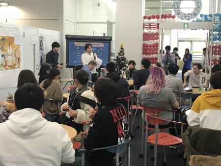 ぴあ+ SOU 『Let's communicate in English  英語でコミュニケーション!』を実施しました!