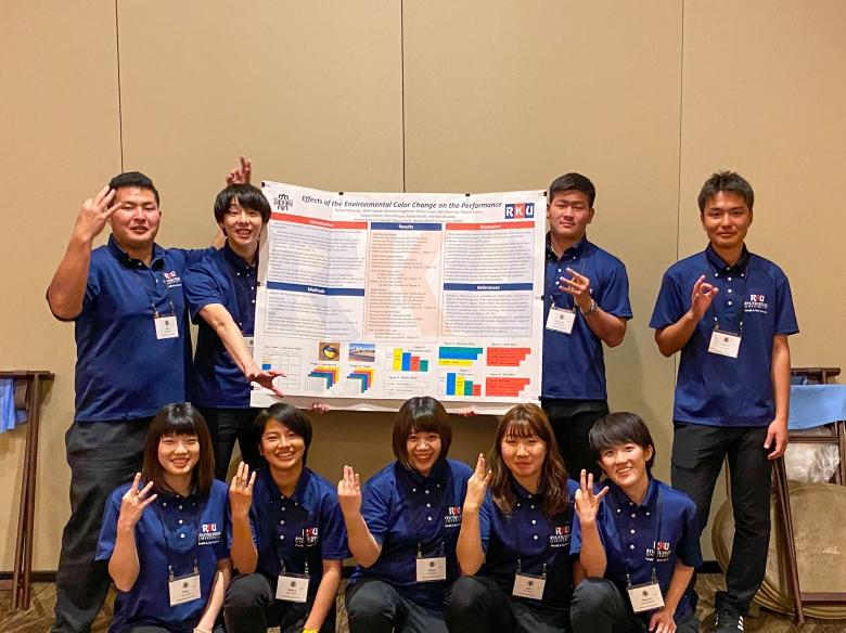 ハワイ国際教育学会で研究発表