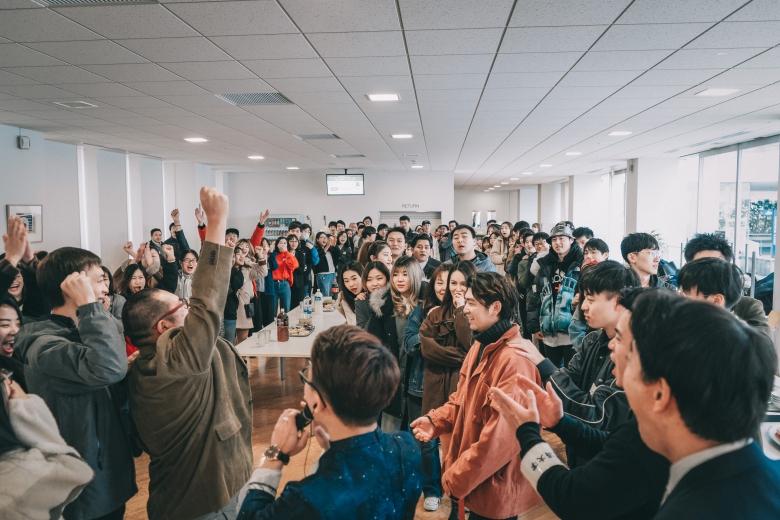 「第1回留学生交流会」が開催されました。