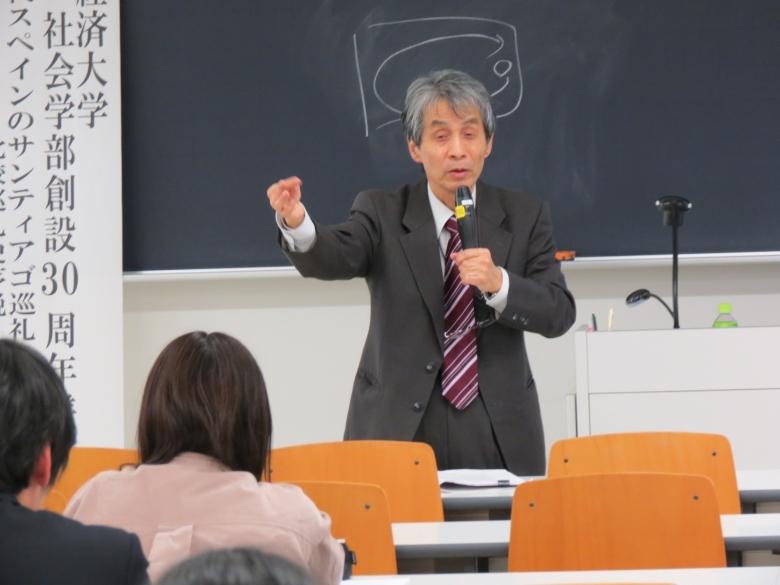 関教授(社会学部)の最終講義が行われました