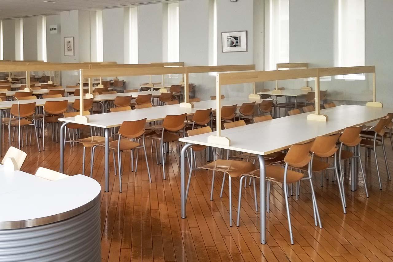 新松戸キャンパスの学生食堂
