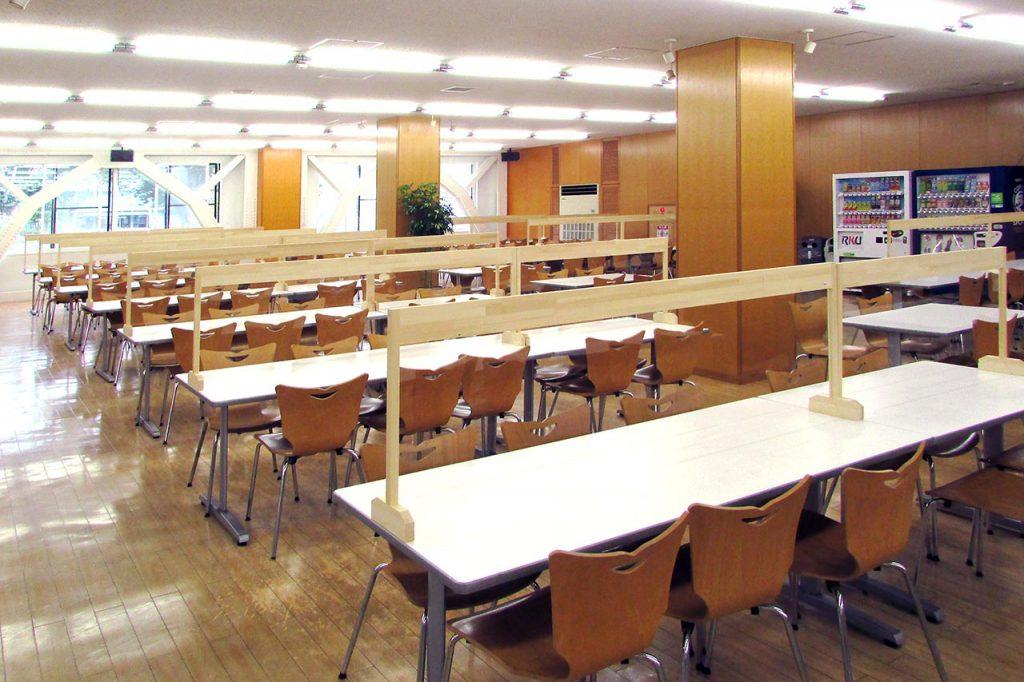 龍ケ崎キャンパス 学生食堂